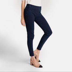 Betabrand Indigo Denim Yoga Skinny Leg Jean 2XL